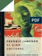 40508560 Jameson Frederic El Giro Cultural Sociologia Ensayo PDF