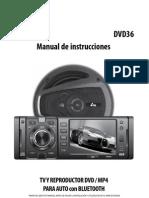 Instrucciones autoestereo YES PK-DVD36