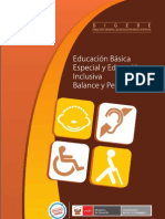 Balance Decada de Educacion Inclusiva
