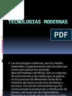 Tecnologias Modernas EIDER GUERRERO