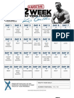 Gethin12week Print Calendar