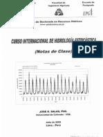Curso Internacional de Hidrologia Estocastica