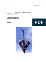 Measurement Practices for Reliability and Power Quality