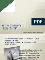 Ley Del Economista