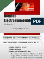 Bombeo Electrosumergible UBV