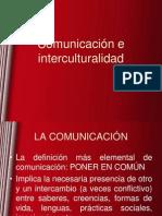 Clase Comunicación e interculturalidad