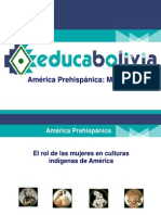 America Precolombina - Mujeres