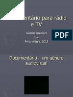 Documentário Aula 1