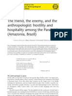 Fausto - The Friend, The Enemy, The Anthropologist