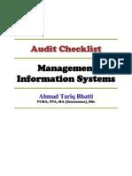 MIS Audit Checklist