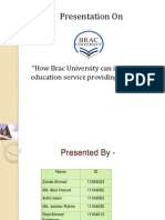 Qualitative Marketing Research - Brac University
