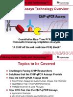 ChIP-qPCR Assays Technology Overview