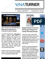 Senator Nina Turner | April 2013 E-newsletter