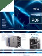 Hertz-Kompressoren Oil Injected Direct Drive Rotary Screw Air Compressor HSC 22D-315D