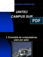 2.-Ensamble de Computadoras Paso Por Paso UNITEC