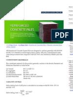 RC Piles API