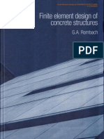 Finite Element Design of Concrete Structures, 2004 - G.a. Rombach
