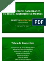 Informe Narcotrafico Gestion Evo Morales Segun EJU TV