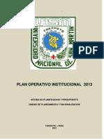 Plan Operativo 2013 - Gabriela (Reparado) (Reparado)