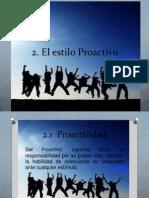 2. proactividad