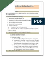 Procedimiento Legislativo Bolviiano
