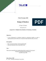 design of members