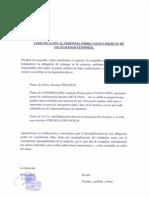 DOCUMENTO FIRMA COMUNICACIÓN SOBRE IT TRABAJADORES