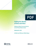Uniting the Worlds of Data and Voice