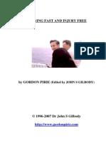 """Gordon Pirie's """"Running Fast and Injury Free"""""""