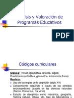 Evaluación curricular 2003