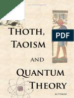 Thot, Taoism & Quantum Theory [M.T.versyp]
