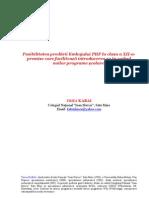 Utilizarea Limbajului PHP