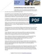 Finding the Best DUI Attorney in San Jose California