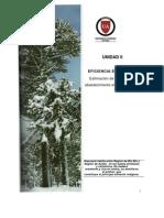 Unidad II.- Eficiencia Energetica