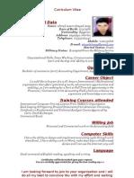 Curriculum Vitae(Ahmed Elisazy)