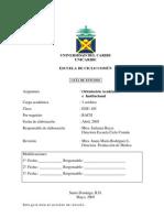 Orientacion Academica Institucional