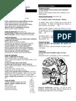 Boletín Parroquial III Domingo de Pascua - 14 de abril de 2013