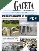 Reglamento de Calidad Del Agua Potable 32327 S La Gaceta 84