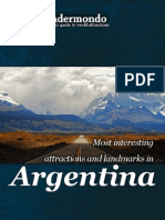 Landmarks and attractions of Argentina