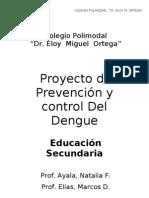 Proyecto Dengue Eloy 2009