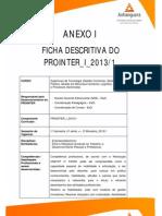 Ficha Descr 2013 1 Prointer i