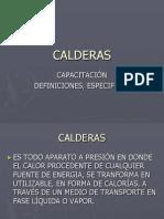 Calderas Capacitacion