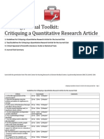 NJC_Toolkit_Critiquing a Quantitative Research Article
