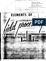 Elements of Field Processing