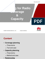 Planning for Radio Coverage & Capacity 2.0