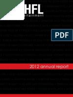 SHFL 2012 Annual Report