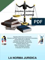 Presentacion de La Norma Juridica