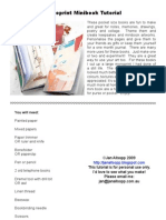 Monoprint Minibook Tutorial
