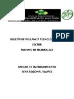 BOLETÍN DE VIGILANCIA TECNOLÓGICA DEL SECTOR TURISMO DE NATURALEZA  No 2