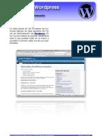 Panel Administracion Wordpress
